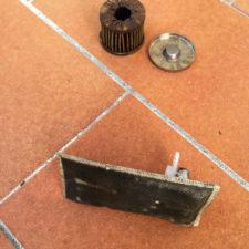 filtro carburante intasato KTM