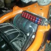 montare filtro benzina KTM