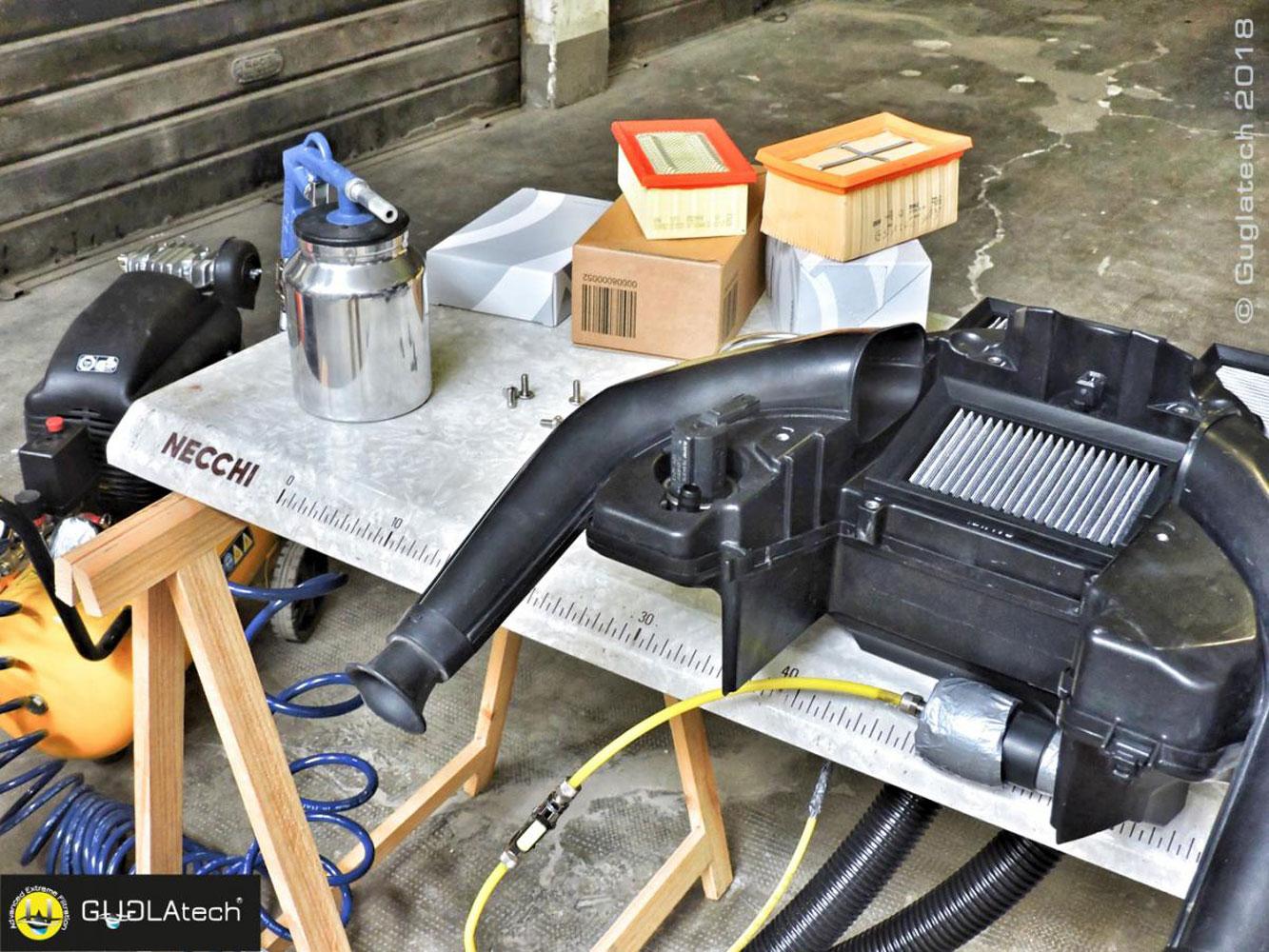filtro aria sportivo moto