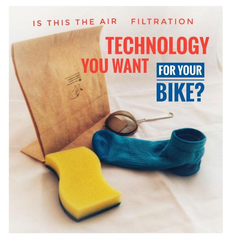 filtro aria moto